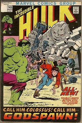 Incredible Hulk #145 - VG/FN