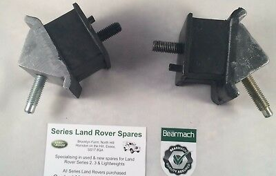 Bearmach Land Rover Discovery 1 300 TDi Gearbox Mounting Rubbers ANR3200 & 3201