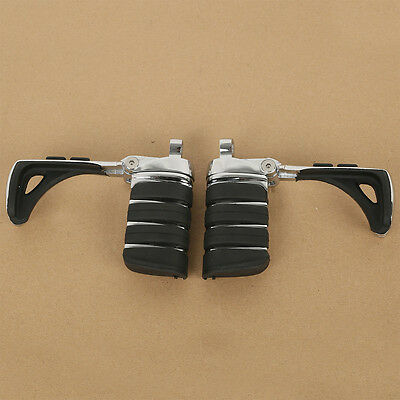 New Switchblade Male Mount Foot Pegs Footrest For Harley Touring Softail Fatboy