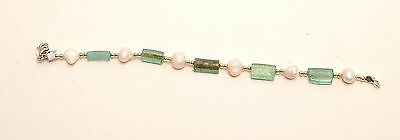 Roman Glass Bracelet Authentic&Luxurious With Certificate Sterling Silver 925 #2