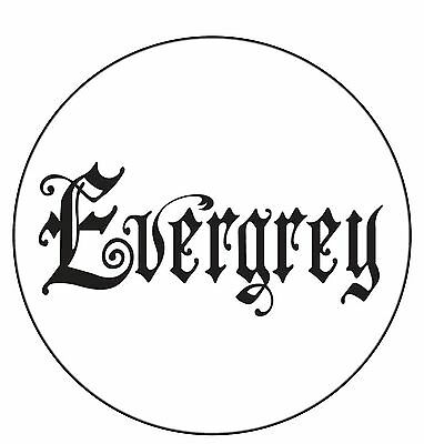 Parche /Iron on patch, Back patch, Espaldera/- Evergrey, C