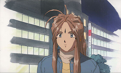 Ah My Goddess Anime Cel Belldandy Close-Up Animation Art AIC Fujishima Kosuke