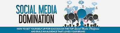 How To Dominate Your Niche Using Social Media- eBook, Videos And Bonuses on 1 CD