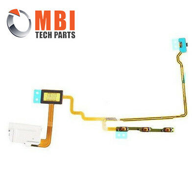 Replacement Power On/Off, Volume Flex & Audio Jack for iPod Nano 7th Gen White