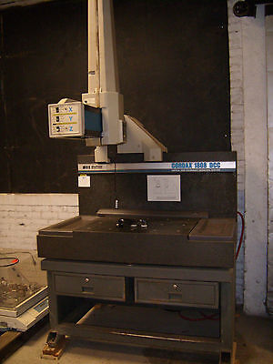 Bendix Cordax 1808 Dcc Vertical Arm Coordinate Measuring Machine, Xyz Axis