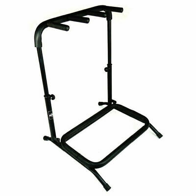 DP Stage GS129 Professional 3 Space Guitar/Bass Rack Compact Folding