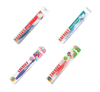 LACALUT Aktiv / Sensitive / Adult / Baby 0-4y / Kids 4-8y / SOFT Toothbrush
