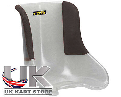 Tillett Kart Seat T11 1/4 Cover Black New with Defects UK KART STORE