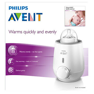 NEW Avent Bottle And Food Warmer Quickly And Evenly Defrost In 3 Minutes