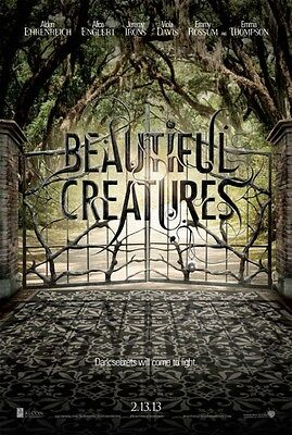Beautiful Creatures 2013 Advance  Original Movie Poster  Double Sided 27x40