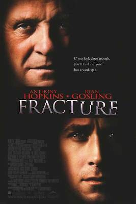 Fracture Orig Movie Poster  27x40 Dbl Sided