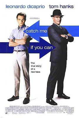 Catch Me If You Can Intl Orig Movie Poster Dbl Sided