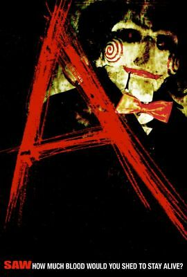 """Saw """"A"""" Single Sided Orig Movie Poster 27x40"""