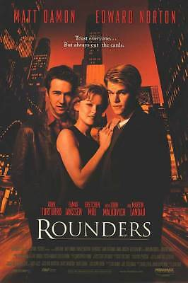 Rounders Single Sided Orig Movie Poster 27x40