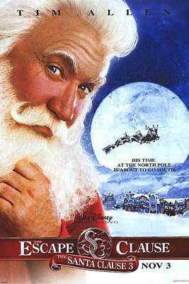 Santa Clause 3: The Scape Clause Adv Orig Movie Poster