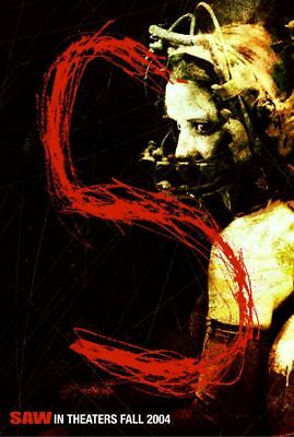 """Saw """"S"""" Single Sided Orig Movie Poster 27x40"""