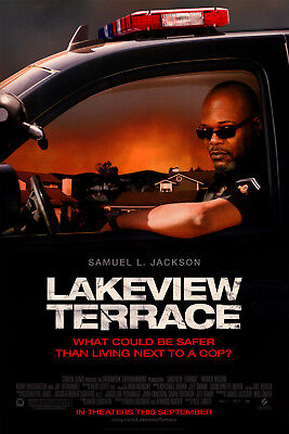 Lakeview Terrace Orig Movie Poster Dbl Sided 27x40