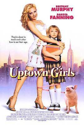 Uptown Girls Orig Movie Poster  Single Sided 27x40