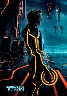 Tron Regular Double Sided Movie Poster 27 x40 Original