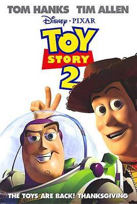 Toy Story 2 Orig Movie Poster Double Sided 27x40