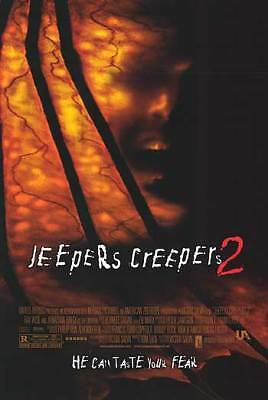 Jeepers Creepers 2 Movie Poster Orig Double Sided 27x40