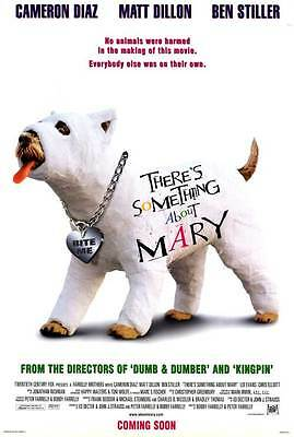 There's Something About Mary Adv Orig Movie Poster DS
