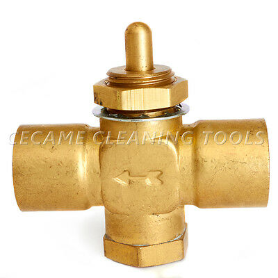 Control Valve For Carpet Cleaning Extractors Machines