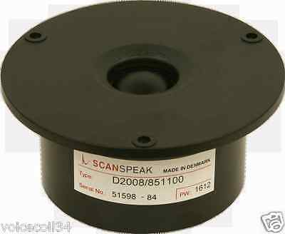 REPLACEMENT DIAPHRAGM FOR Scan Speak - D2008 851100 - Tweeter 8 Ohms