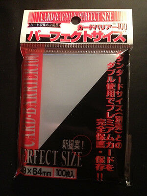 KMC perfect size fit pack x1 pokemon mtg 100 sleeves
