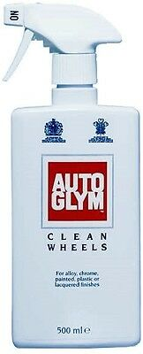 Autoglym Clean Wheels Alloy Wheel Cleaner Brake Dust Car Motorcycle MotorBike