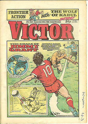 The Victor 1492 (Sept 23, 1989) high grade copy