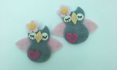 Handmade Felt Accessories- Owls