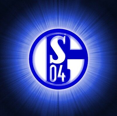 Parche imprimido /Iron on patch,Back patch, Espaldera / - FC Schalke 04, A