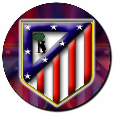 Parche imprimido, Iron on patch, /Textil sticker, Pegatina/- Atlético de Madrid
