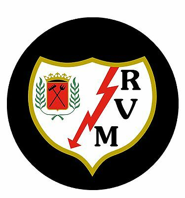Parche imprimido /Iron on patch,Back patch,Espaldera /- Rayo Vallecano de Madrid