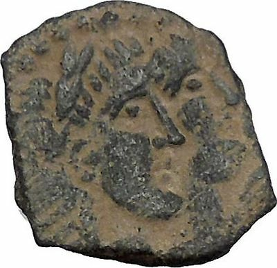King Rabbel II Gamilat Arab Caravan Kingdom of Nabataea 101AD Greek Coin i50432