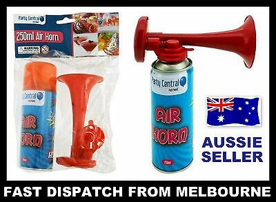 NEW 2x Hand Held Party Air Horn 250ml For Party Games Sports Events Festivals AU