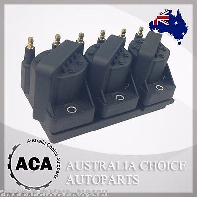 3 x Ignition Coil with Delphi Module Holden Commodore VT VX VY VR VS WH WK VP VN
