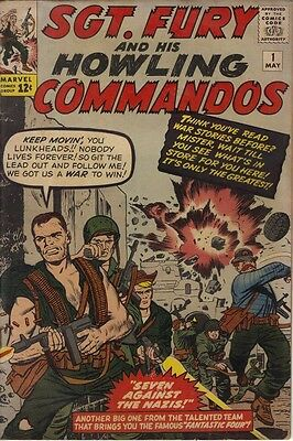 Sgt. Fury #1 (May 1963, Marvel)