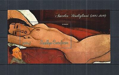 Central African Republic 2011 Block 922 ** Painting Kunst Modigliani