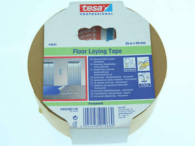 tesa Professional Universal Doppelseitiges Verlegungsband Floor Laying Tape