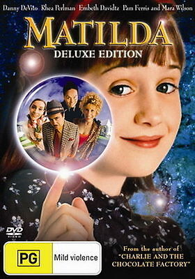 Matilda DVD Movie BRAND NEW R4