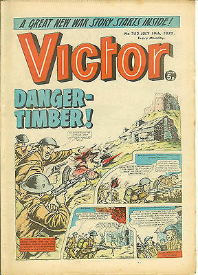 The Victor 752 (July 19, 1975) very high grade copy