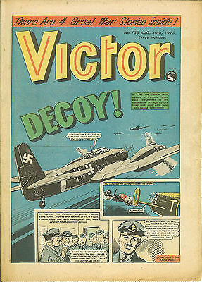 The Victor 758 (Aug 30, 1975) very high grade copy