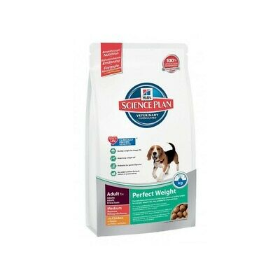 HILL S science plan canine adult perfect weight  medium mangime secco pollo 10kg