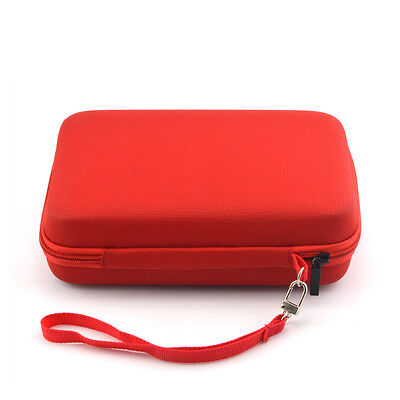 Universal Red 6 Inch GPS Case with Tray Holder and Lanyard for Tomtom Start 60