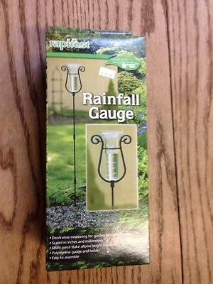Luster Leaf 1640 Rapitest Rainfall Gauge, Black