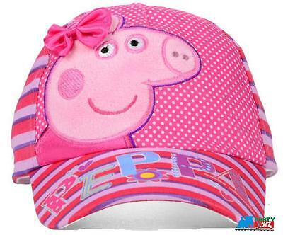 Peppa Pig Small Toddler Adjustable Cap Hat - Bow