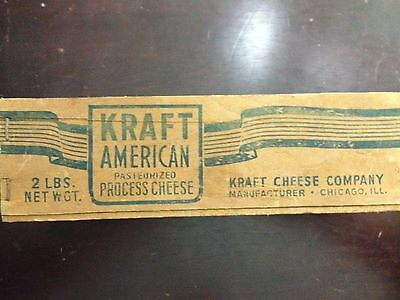 Antique Kraft American Wooden Cheese Box
