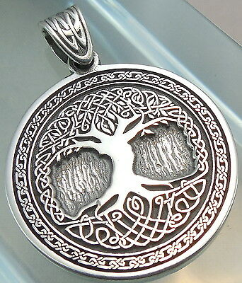 Pendant  Celtic Tree of Life Amulet Jewelry 925 sterling silver (p337)